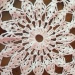 Circular Doily used to represent restorative justice circle groups